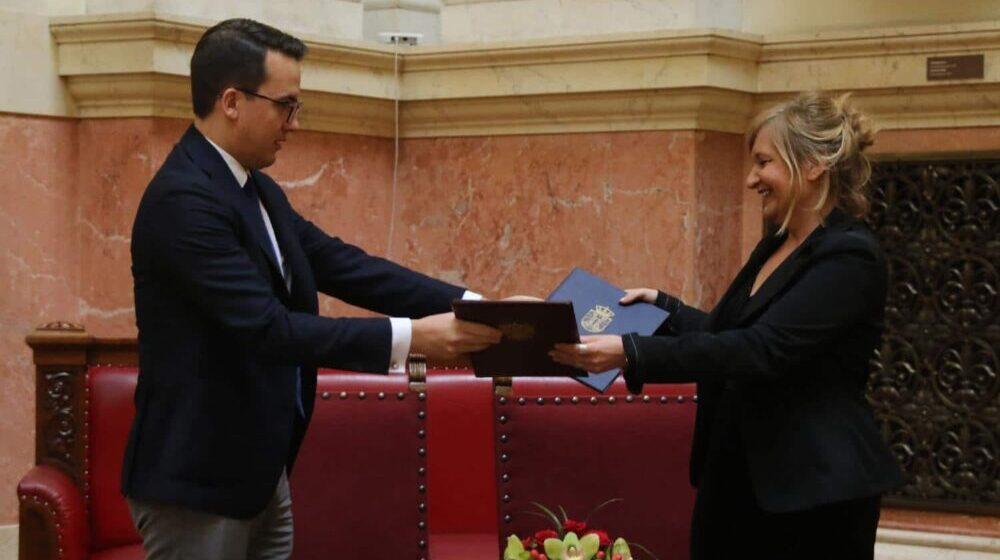 Potpisan memorandum o saradnji Jugoslovenskog dramskog pozorišta i Aleksandrinskog teatra 1