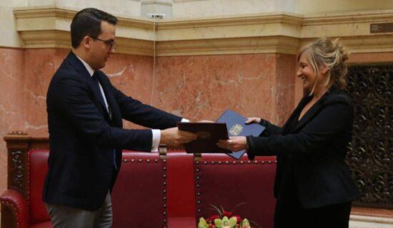 Potpisan memorandum o saradnji Jugoslovenskog dramskog pozorišta i Aleksandrinskog teatra 11