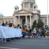 Nekoliko hiljada učesnika na Prajdu u Beogradu, Bekvalac: I ja sam deo LGBT zajednice 5