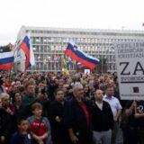 U Ljubljani novi protest protiv kovid potvrda i vakcinacije 12