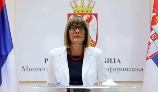 Maja Gojković: U Srbiji oko 2.400 medija, svaki građanin može da bira izvor informacija 12