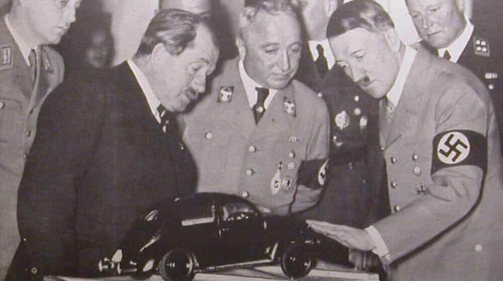 Cena napredovanja pod nacističkom kapom - Ferdinand Porše 1