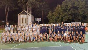 Fondacija dr Danice Grujičić poklonila dresove mladim košarkašima Sevojna 2