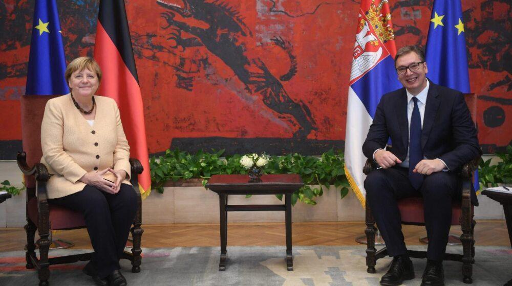Merkel u poseti Beogradu: Odnos Nemačke i Srbije je pun poverenja (VIDEO, FOTO) 1