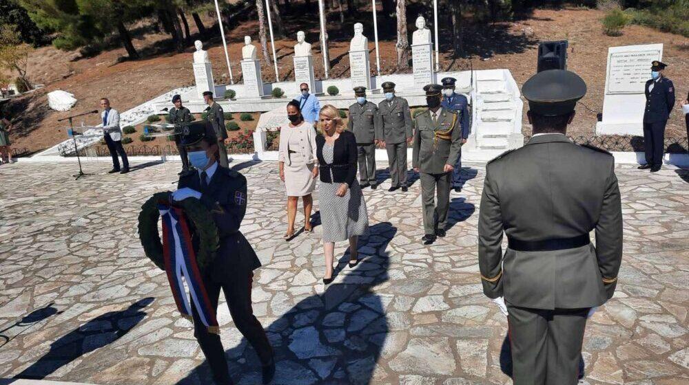 Delegacija Srbije obeležila u Polikastru 103. godišnjicu proboja Solunskog fronta 1