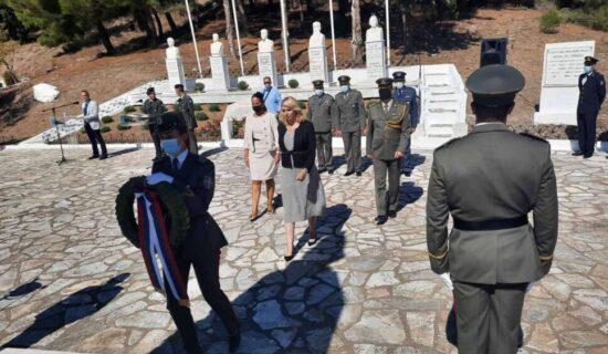 Delegacija Srbije obeležila u Polikastru 103. godišnjicu proboja Solunskog fronta 13