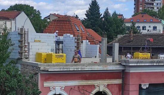 Udruženja: Nastavljeni radovi na vili na Vračaru i pored rešenja o zatvaranju gradilišta 11