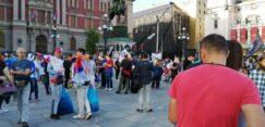 Antiglobalistički skup u Beogradu: Protiv prisilne vakcinacije i propusnica 21