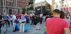 Antiglobalistički skup u Beogradu: Protiv prisilne vakcinacije i propusnica 20