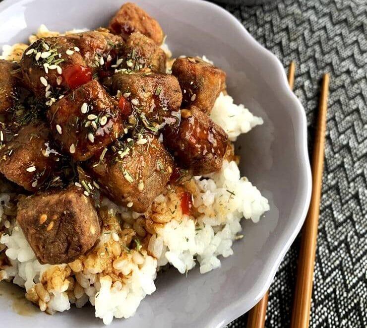Vege recept: Hrskavi tofu 3