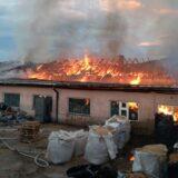 Sprečeno dalje širenje požara u nekadašnjoj fabrici dečjeg nameštaja ''Stolar'' u Pirotu 8