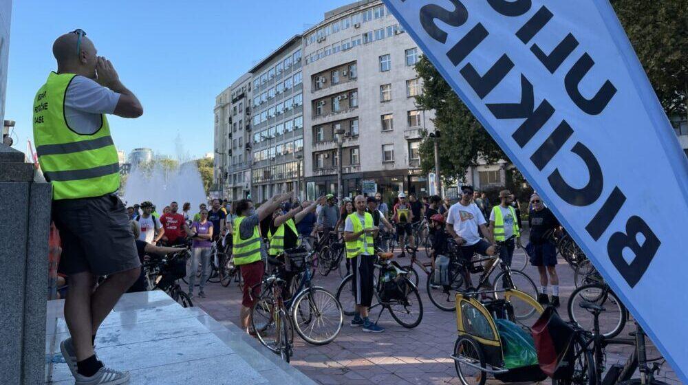 """Poruka biciklista na 119. """"Kritičnoj masi"""": Potrebni su nam bolji uslovi 1"""
