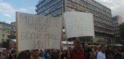 Antiglobalistički skup u Beogradu: Protiv prisilne vakcinacije i propusnica 11