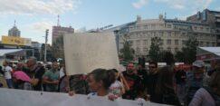 Antiglobalistički skup u Beogradu: Protiv prisilne vakcinacije i propusnica 9