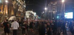 Antiglobalistički skup u Beogradu: Protiv prisilne vakcinacije i propusnica 30