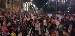 Antiglobalistički skup u Beogradu: Protiv prisilne vakcinacije i propusnica 31