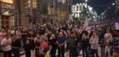 Antiglobalistički skup u Beogradu: Protiv prisilne vakcinacije i propusnica 27