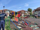 Autobus uleteo u dečje igralište u Zemunu, šest osoba povređeno, devojčica na intenzivnoj nezi (FOTO, VIDEO) 3