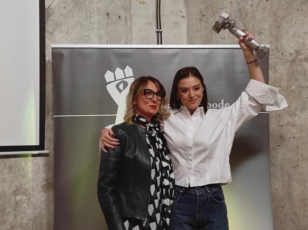 """Glumica Milena Radulović dobitnica nagrade """"Osvajanje slobode"""" (FOTO/VIDEO) 4"""