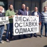 Ponovljeni zahtevi za ostavku Gorana Vesića povodom urušavanja zgrade u Vidovdanskoj ulici 8