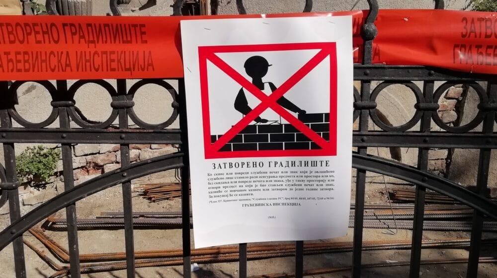 Gradnja u Topolskoj 19 do daljeg zaustavljena, udruženja će pratiti razvoj situacije 1