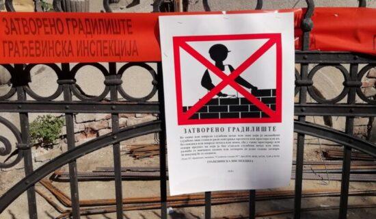 Gradnja u Topolskoj 19 do daljeg zaustavljena, udruženja će pratiti razvoj situacije 13