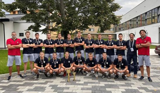 Mladi vaterpolisti Srbije prvaci Evrope 9