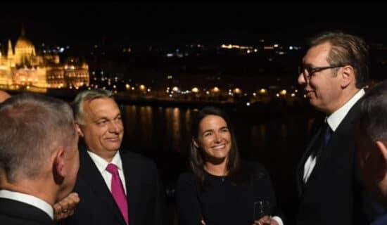 Vučić na večeri kod Orbana 13