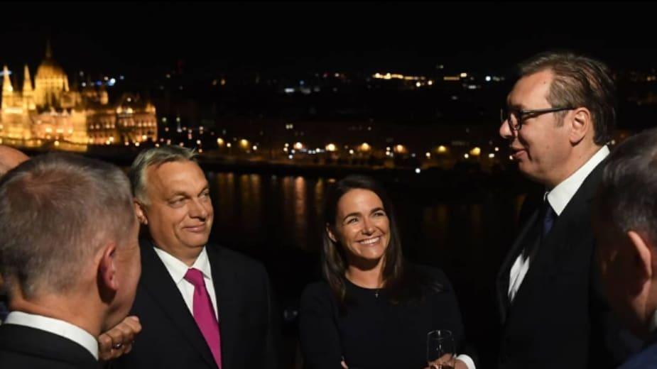 Vučić na večeri kod Orbana 1