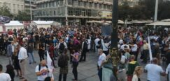 Antiglobalistički skup u Beogradu: Protiv prisilne vakcinacije i propusnica 19