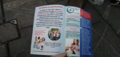 Antiglobalistički skup u Beogradu: Protiv prisilne vakcinacije i propusnica 16