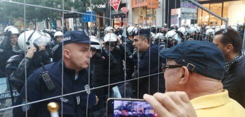 Antiglobalistički skup u Beogradu: Protiv prisilne vakcinacije i propusnica 6