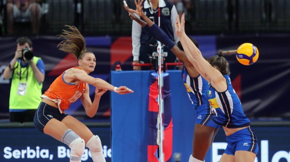 Italija na Srbiju u finalu Evropskog prvenstva 1