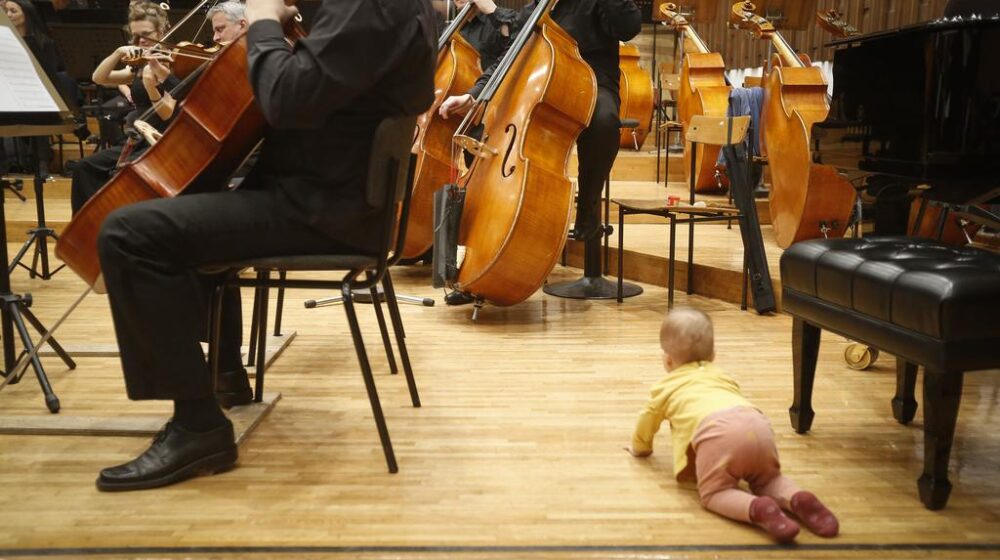 Ponovo koncerti za bebe u Beogradskoj filharmoniji od 8. do 10. septembra 1