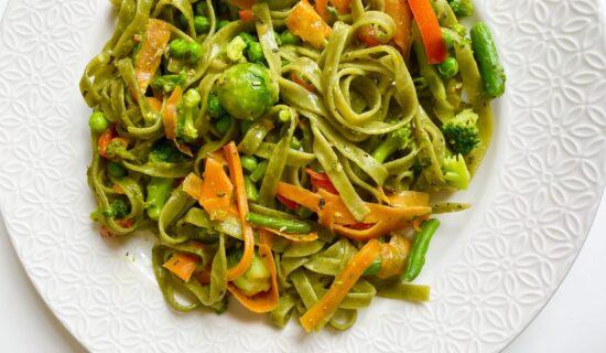 Vege recept: Testenina sa povrćem 9
