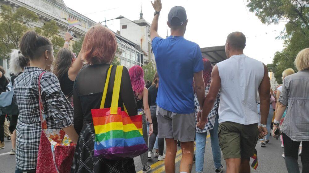 Nekoliko hiljada učesnika na Prajdu u Beogradu, Bekvalac: I ja sam deo LGBT zajednice 14
