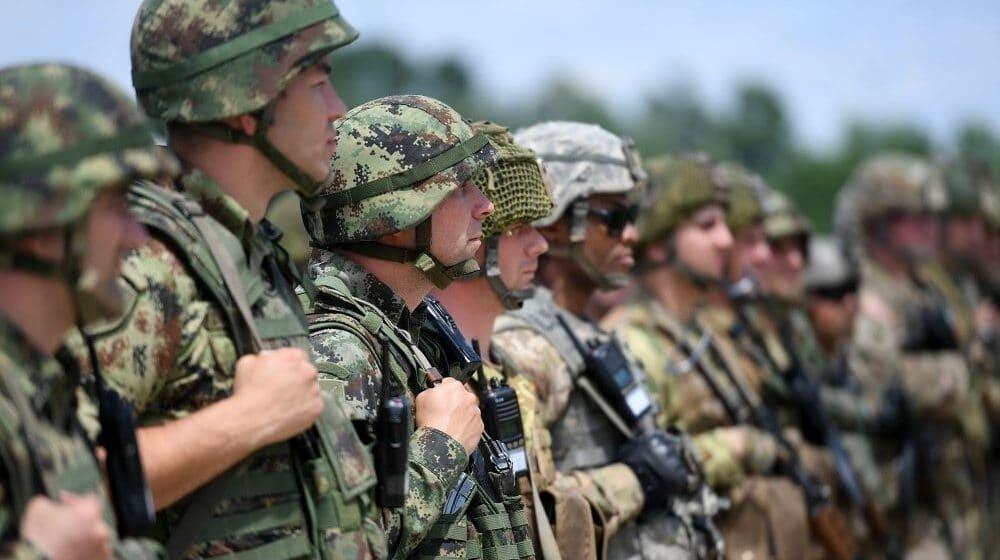 Povišena borbena gotovost Četvrte brigade Kopnene vojske u Vranju 1