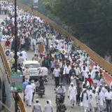 Desetine hiljada Indijaca na protestu zbog novih zakona u oblasti poljoprivrede 5