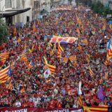 Protest separatista u Kataloniji uoči pregovora sa centralnom vladom 2