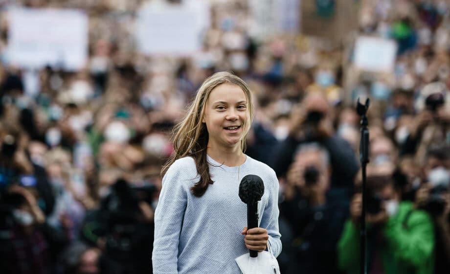 Greta Tunberg pridružila se ekološkom skupu u Nemačkoj 1