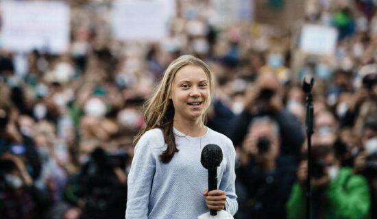 Greta Tunberg pridružila se ekološkom skupu u Nemačkoj 13