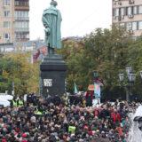 Protestanti u Moskvi zahtevaju ukidanje elektronskog glasanja 13