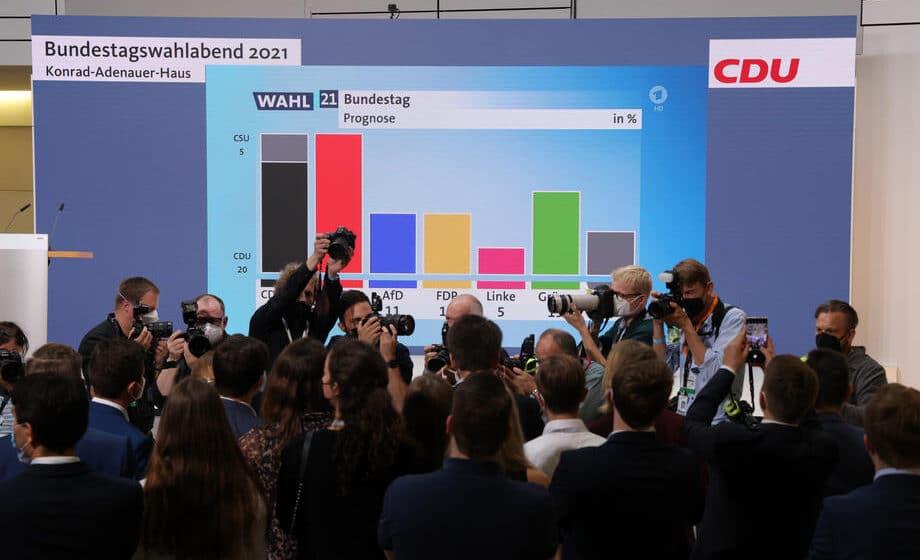 Izbori u Nemačkoj: SPD u blagom vođstvu 1