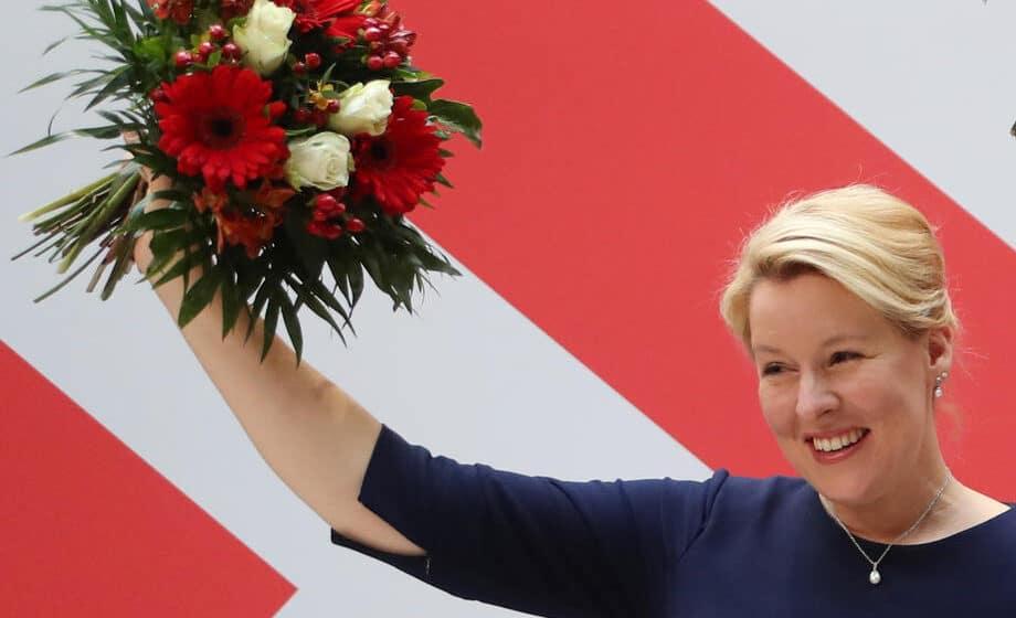 Franciska Gifi: Prva žena na čelu Berlina 1