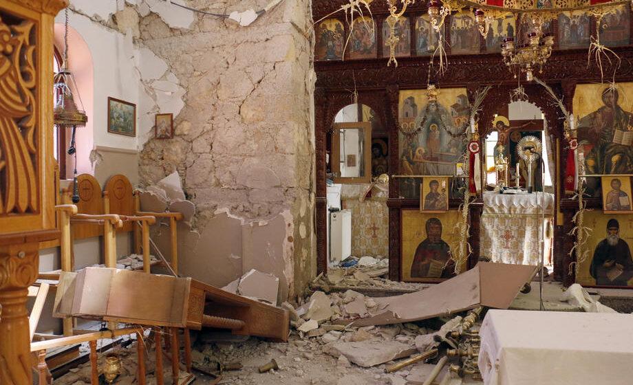 Na Kritu novi zemljotres jačine preko pet stepeni Rihterove skale 1