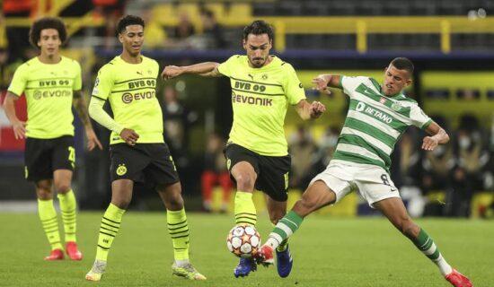 Malen doneo sva tri boda Borusiji protiv Sportinga, veliko iznenađenje u Madridu, Šerif pobedio Real 13