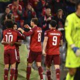 Bajern ubedljiv protiv Dinama, poraz Barselone u Lisabonu 2