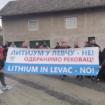 Meštani sela Dragova sprečili početak istraživanja litijuma u Levču 16