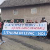 Meštani sela Dragova sprečili početak istraživanja litijuma u Levču 12