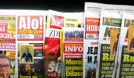 Kakva je vlasnička struktura najuticajnijih srpskih tabloida 13